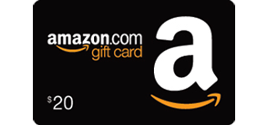 Receive a $20 Amazon.com Gift Card