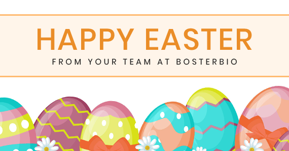 Happy Easter from Boster!